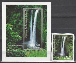 Samoa #1140-1 MNH  CV $10.65