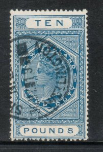 New Zealand #AR30 Very Fine Used With Ideal Cancel