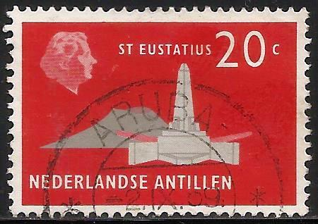 Netherlands Antilles 1958 Scott# 248 Used