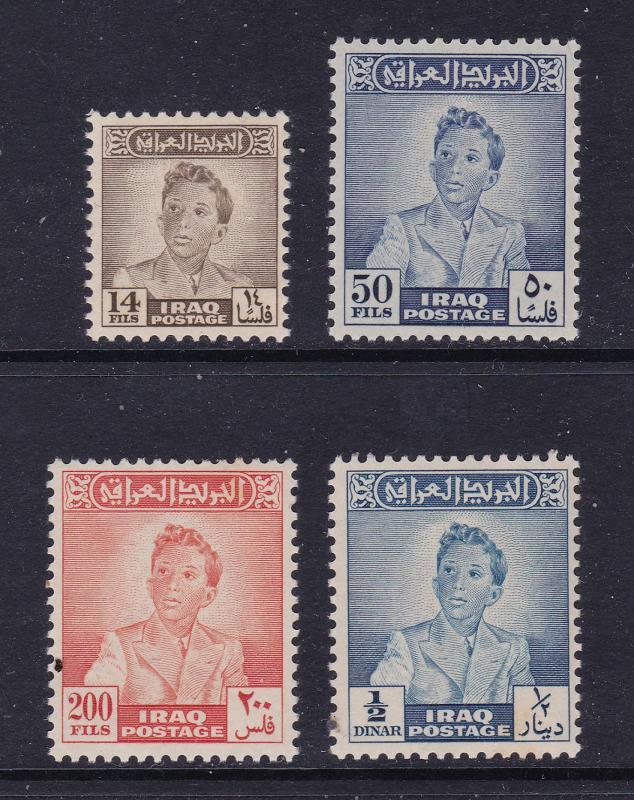 Iraq x 4 better MNH earlier items