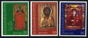 Georgia 236-238,MNH. Christianity,2000th Ann.2000.Icons.