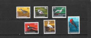 BIRDS - COCOS ISLANDS #14-19  MNH