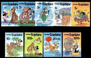Togo 1064-71 MNH Disney, Pluto, 50th Anniv Animal