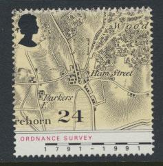 Great Britain SG 1578    Used  - Ordnance Survey