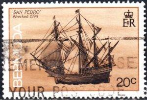 Bermuda  #488  Used