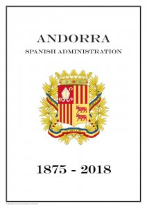 Andorra Spanish Administration 1875-2018  PDF (DIGITAL) STAMP  ALBUM PAGES