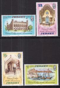 Jersey 179-182 MNH VF