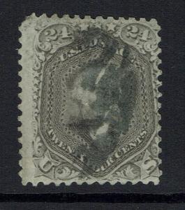 United States SC# 70a - Used (Un-even Top Perfs) - Lot 032317