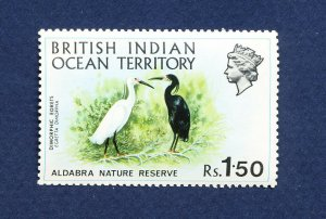 BIOT  BRITISH INDIAN OCEAN TERRITORY - # 42 -  FVF MNH see note - Birds - 1971