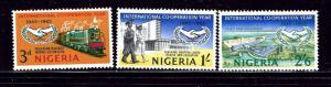 Nigeria 178-80 MNH 1965 Intl Cooperation Year