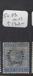 INDIA  NABHA   (P0308B)  QV     2A  SERVICE  SG O3   MOG
