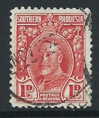 Southern Rhodesia SG 16 Fine Used