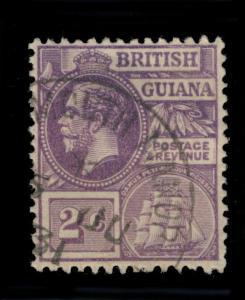 GUYANA / BRITISH GUIANA  - 1931 - TAYMOUTH MANOR SINGLE CIRCLE DS ON SG274