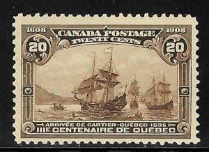 Canada #103 Mint NH - Choice