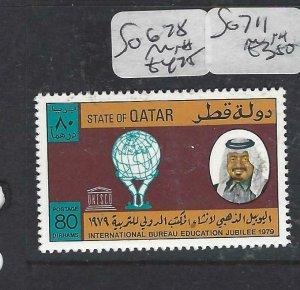 QATAR  (PP2306B)  SG 678   MNH