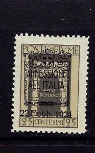 Fiume 200 MNH 1924 overprint