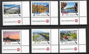 NEW ZEALAND SG3150/5 2009 LANDSCAPERS MNH