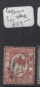 LABUAN  (P1601BB) QV 2C  SG 30   VFU