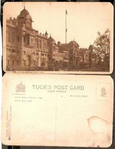 India Patiala State 1924 Moti Bagh Palace Architecture View Card as per Scan ...