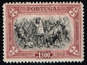 PORTUGAL STAMP 1928 Independence Issue MH/OG STAMP LOT $1.00 VIOLET BROWN