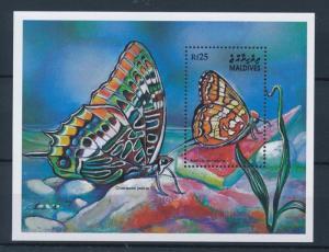 [36183] Maldives 2001 Butterflies Schmetterlingen Papillons  MNH Sheet