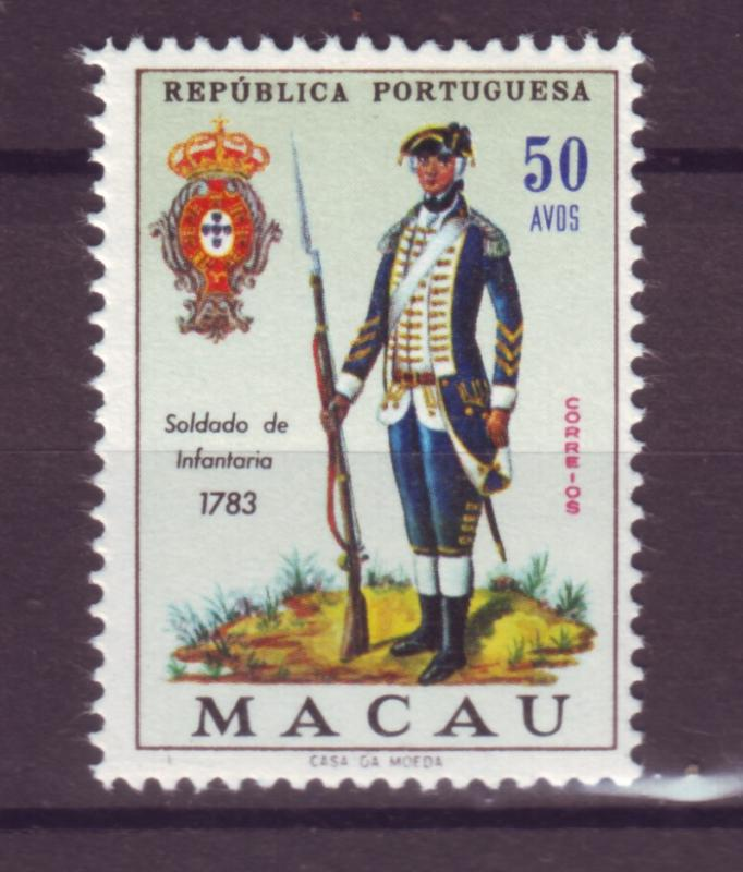 J17733 JLstamps [low price] 1966 macao mh #408 military