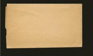 Saint Lucia Queen Victoria Half Penny Newspaper Wrapper Unused