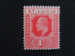 St. Lucia #58 Mint Hinged WDWPhilatelic (H6L7)