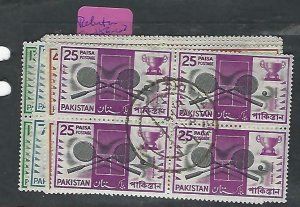 PAKISTAN (P2110B)   SPORTS  SG 159-162  BL OF 4  VFU