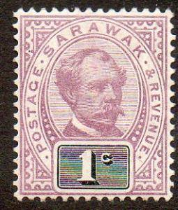 Sarawak  Scott  8  Mint