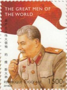 Z08 TG18505a TOGO 2019 Joseph Stalin MNH ** Postfrisch