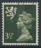 Great Britain Wales  SG W17 SC# WMMH3 Used  3½p Machin see scan