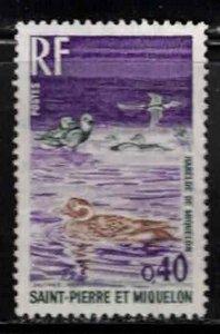 ST PIERRE & MIQUELON Scott # 426 MH - Birds - Oldsquaws