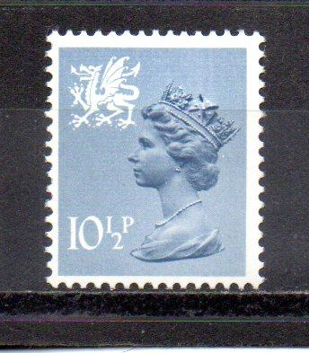 Great Britain - Wales WMMH14 MNH