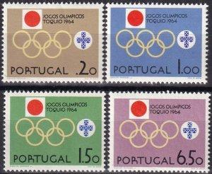 Portugal #936-9  MNH CV $5.15  (Z8017)