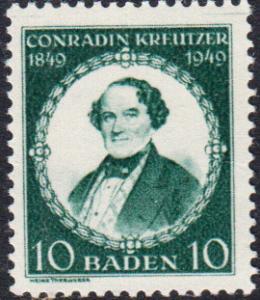 Germany - Baden #5N42 MNH