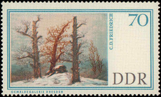 1967 German Democratic Republic #909-914, Complete Set(6), Never Hinged