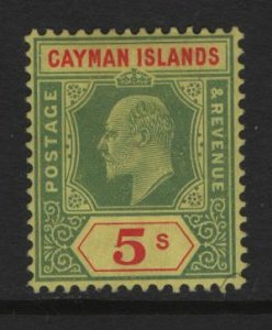 CAYMAN ISLANDS  28 MINT HINGED, KING EDWARD ISSUE 1907