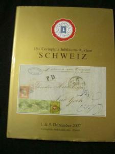 CORINPHILA AUCTION CATALOGUE 2007 SCHWEIZ