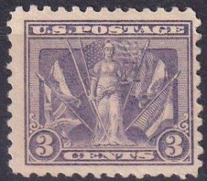 US #537 F-VF Unused CV  $10.00 (K2467)