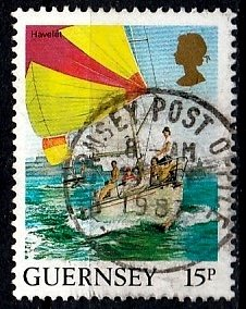 Guernsey 1987 SG. 399 used (10809)
