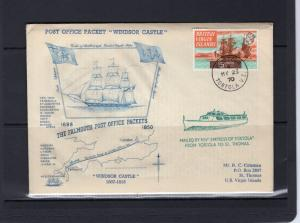 British Virgin Islands 1970 THE FALMOUTH POST OFFICE PACKETS 1688-1850 Special