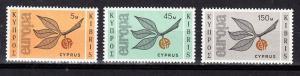 Cyprus Scott 262-264 Mint NH (Catalog Value $25.35)