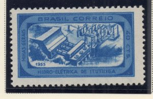 Brazil 1954-55 Early Issue Fine Mint Hinged 40c. NW-12074