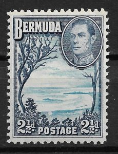 1943 Bermuda 120 Grape Bay MNH