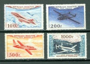 FRANCE AIR SCARCE SET #C29-32...MNH...$324.00