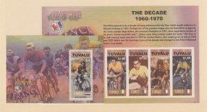 Tuvalu Scott #921-922 Stamps - Mint NH Souvenir Sheet Set