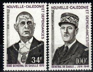 New Caledonia #393-4  MNH  CV $23.00 (X673)