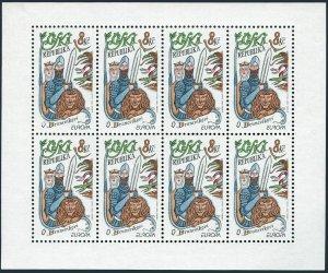 Czech 3013-3014 sheets,MNH.Michel 144-145 klb. EUROPE CEPT-1997.Stories,legends.