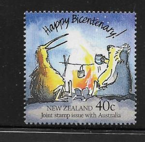 NEW ZEALAND, 907, MNH, JOINT STAMP ISSUE